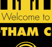 Welcome Gotham Sticker