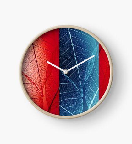 Sheer Veins Clock
