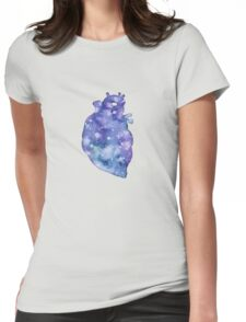 Astro Heart Womens Fitted T-Shirt