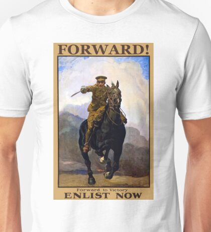 World War One Poster - Enlist Unisex T-Shirt