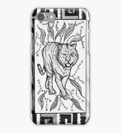 Tribal Tiger iPhone Case/Skin