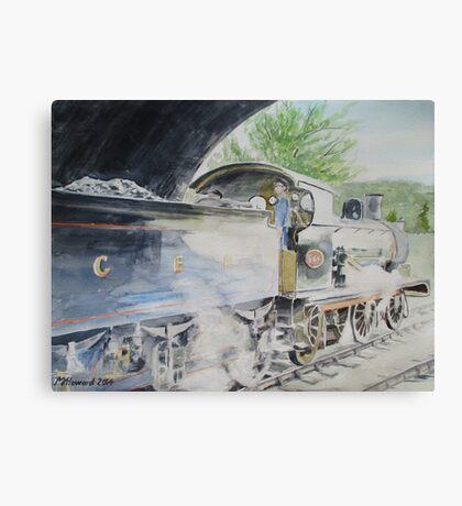 J15 564 Leaving Sheringham Canvas Print