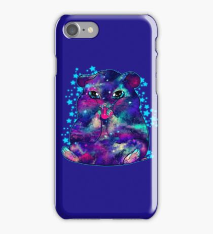 Space hamster iPhone Case/Skin