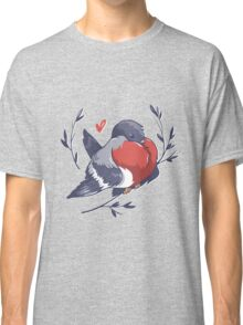 Red Heart Bird Classic T-Shirt