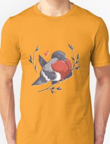 Red Heart Bird T-Shirt