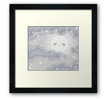 Cute Sky 12- Winter Framed Print