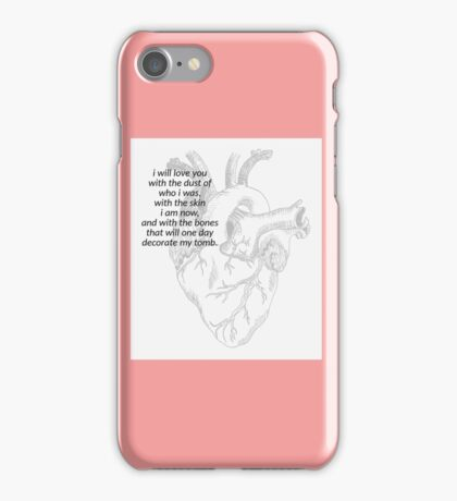Love - Romance - Poetry  iPhone Case/Skin