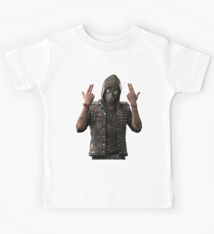 Wrench from watch dogs 2 Kids Tee