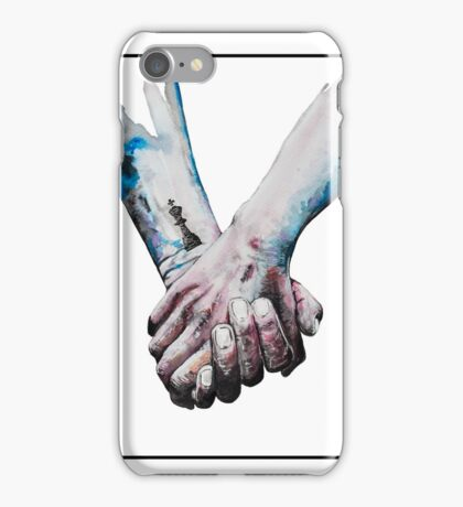 Love Is Coal (for light background) iPhone Case/Skin