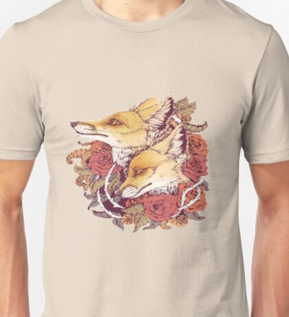 a pair of foxes love Unisex T-Shirt