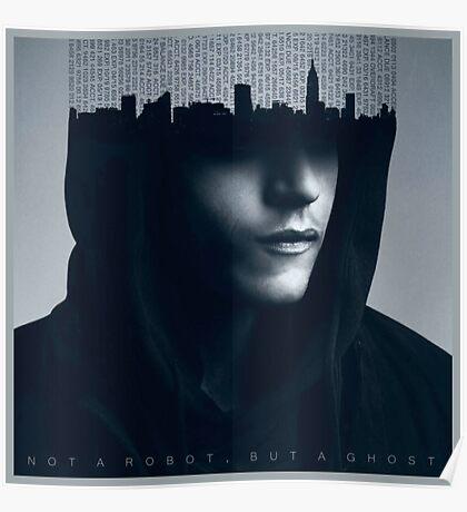 Mr Robot - Rami Malek Poster