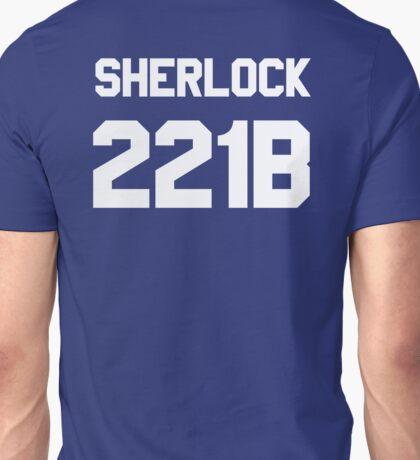 Sherlock Football Jersey Style T-shirt – 221B, Baker Street Unisex T-Shirt
