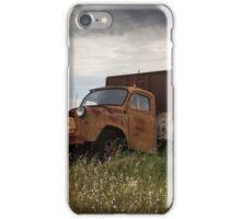 Old Truck In Paddock iPhone Case/Skin