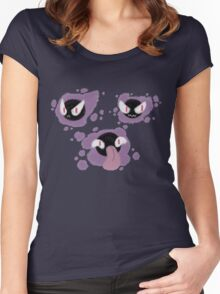 Spooky Trio Women's Fitted Scoop T-Shirt