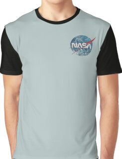 NASA Space Agency Ultra-Vintage Graphic T-Shirt