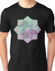 Colourful Mandala Unisex T-Shirt