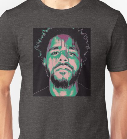 J Cole Abstract  Unisex T-Shirt