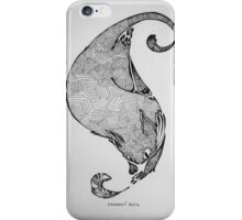 Feather and Cat iPhone Case/Skin