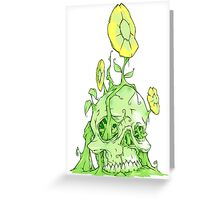 Back to earth Greeting Card