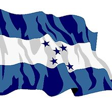Honduras Flag by kwg2200