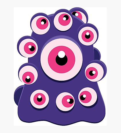 Monster Eyes Photographic Print