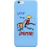 Adventure Time with Calvin and Hobbes iPhone Case/Skin