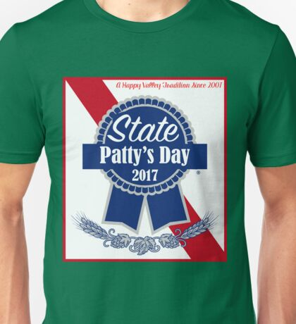 State Patty's Day PBR Unisex T-Shirt