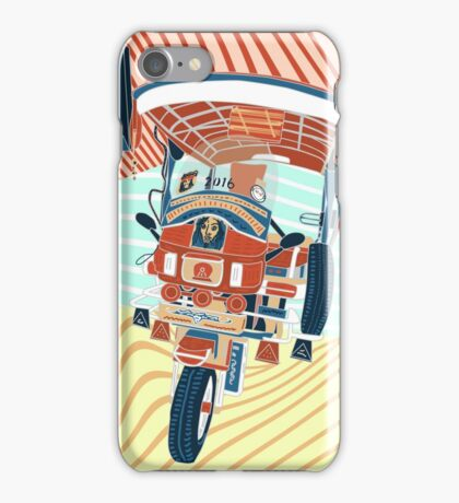 Auto-tricycle iPhone Case/Skin