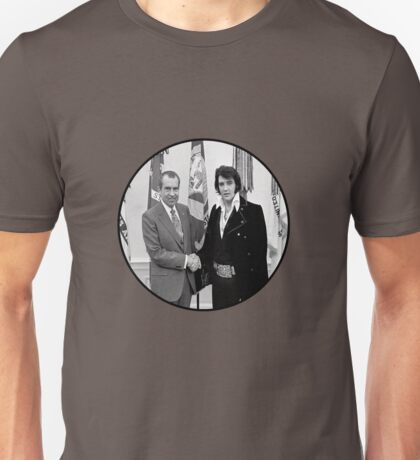Elvis Meeting Nixon (1970) Unisex T-Shirt