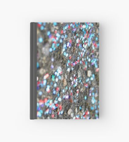 Silver Sparkles Hardcover Journal