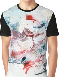 Red and blue abstract Graphic T-Shirt