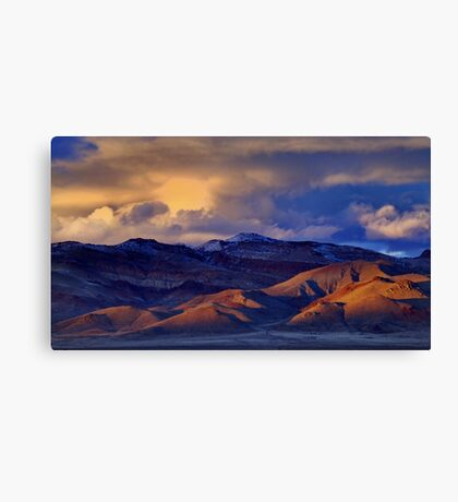 Palomino Valley Winter Sunset  Canvas Print