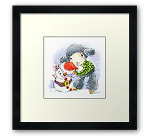 sheep. 01. New Year series Framed Print