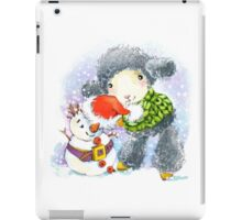 sheep. 01. New Year series iPad Case/Skin