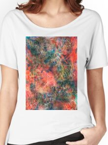 Sketchy Abstract Women's Relaxed Fit T-Shirt