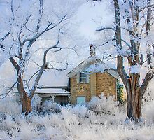 Frost at the Old Farmhouse. by Ken Fortie