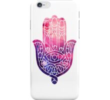 Pink and Purple Hamsa iPhone Case/Skin