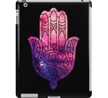 Pink and Purple Hamsa iPad Case/Skin