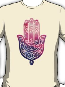 Pink and Purple Hamsa T-Shirt