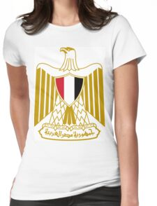 Eygpt Coat of Arms Womens Fitted T-Shirt