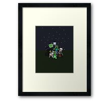 Best of minecraft Framed Print