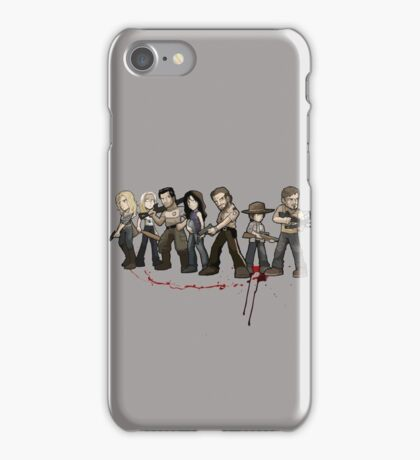 The walking zombie iPhone Case/Skin