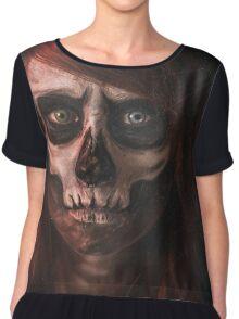 Skull Girl Chiffon Top