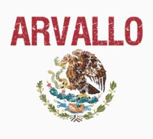 Arvallo Surname Mexican Kids Clothes