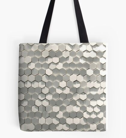 Hexagon gone wild! Tote Bag