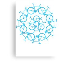Re-Bicycling Canvas Print