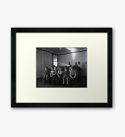 1948 MARCH, MERIT MANUFACTURING, MAYFIELD, KENTUCKY NO.6 Framed Print