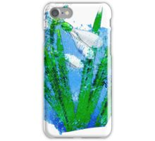 Watercolor snowdrops iPhone Case/Skin