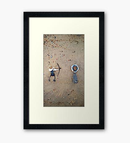 Archery II Framed Print
