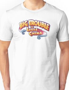 Big Trouble In Little China - HD White Unisex T-Shirt